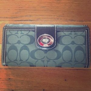 Green Coach Wallet!